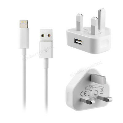 Genuine CE Charger Plug USB Sync Cable Lead For Apple iPhone 8 7 Plus Xs X 6s 5