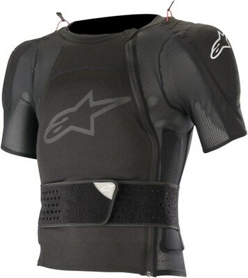 Alpinestars Sequence Soft Pro Mens MX Offroad Protective SS Jacket Black