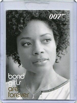 2014 James Bond Archives BG74 Eve Moneypenny (Naomie Harris) Case-Topper