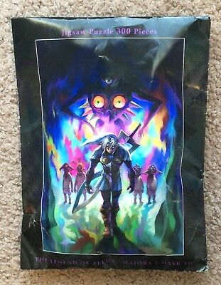 Club Nintendo The Legend of Zelda: Majora's Mask 3D 300 Piece Jigsaw Puzzle