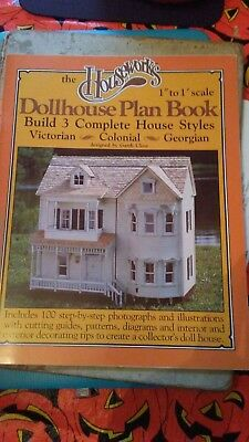 Dollhouse Plan Book. Build 3 complete house styles.