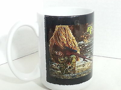 Remington Defense MK21 MOD 0 Precision Sniper Rifle Coffee Cup Mug Military