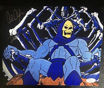 Alan Oppenheimer Skeletor Masters Of The Universe Autographed JSA 8x10