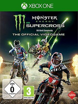 Monster Energy - Supercross - The Ufficiale Videogame Xbox One Nuovo + Conf.