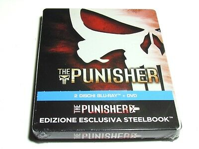 The Punisher Blu-Ray Steelbook Limited Edition Import Region Free New Marvel
