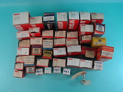 Large Lot of 35+ Vintage RCA Radio & Tv Stereo Control Amplifying Switches