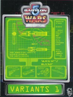 Agents of Gaming Babylon 5 Wars Variants 1 SC NM-