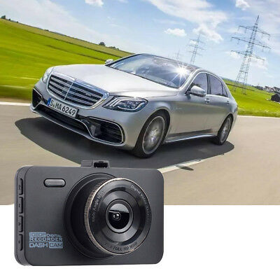 "3"" Vehicle HD 1080P Car Dashboard DVR DV Camera Video Recorder G-Sensor Dash Cam"