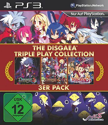 Disgaea  - Triple Play Collection (3in1)  PS3 Playstation 3  !!!!! NEU+OVP !!!!!