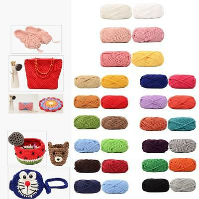DIY 100g Crochet Cloth Carpets Yarn Cotton Wool hand-knitted Thick Knit Blanket