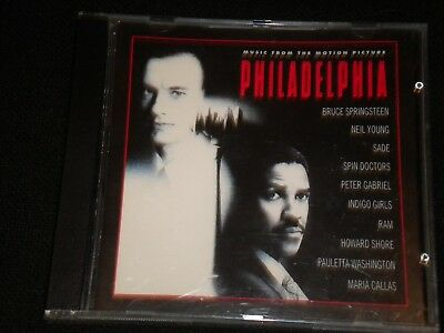 Philadelphia - Music From The Motion Picture - CD Album - 1993
