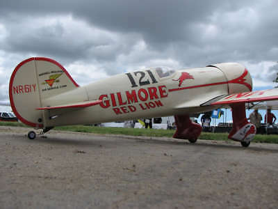 Riese 1/4 Maßstab Wendell Williams Gilmore Red Lion Air Racer Plans,Schablonen