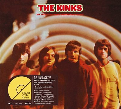 THE KINKS - THE VILLAGE GREEN PRESERVATION SOCIETY 50th ANNIVERSARY CD