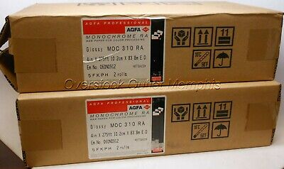 AGFA Professional Monochrome RA 5FKPH 4 Rolls of 4in x 275ft