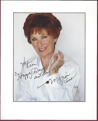"""Marion Ross, """"Happy Days"""" Actress, Signed 8"""" x 10"""" Color Photo, COA, UACC RD 036"""