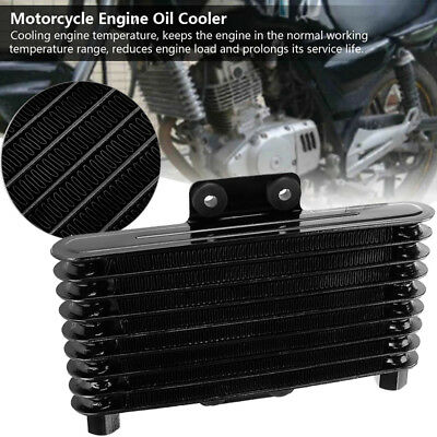 125ml Engine Oil Cooler Radiator Replaces For 125-250cc Dirt Bike ATV Motorcycle