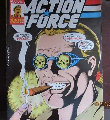 ACTION FORCE Winter Special #2 - MARVEL'S BRITISH G.I.JOE MAGAZINE  NM/MT Unread