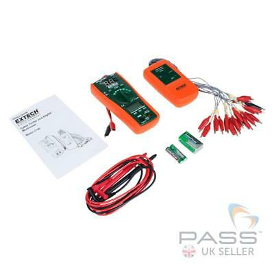 Extech CT40 Cable Identifier/Tester Kit incl. Transmitter, Multimeter / Receiver