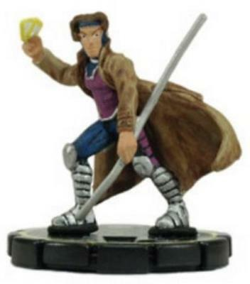 Marvel Heroclix Universe Gambit #053 - Experienced NM