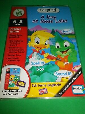 Leap Frog, Leap Pad, Leappad Spiel: A DAY AT MOSS LAKE (Englisch lernen)