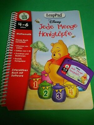 Leap Frog, Leap Pad, Leappad Spiel: Disney Winnie Puuh: JEDE MENGE HONIGTÖPFE