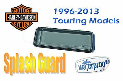 Harley Davidson Touring Waterproof Splash Guard CD Radio Stereo Adapter Kit Tint