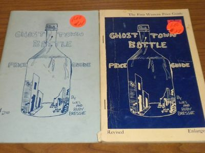 Vintage GHOST TOWN BOTTLE Books (2) PB  1964 -66