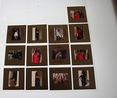 Christopher George VINTAGE LOT OF 35MM SLIDE TRANSPARENCY PHOTO #1