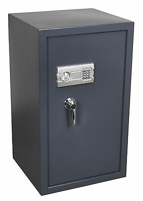 Brand New! Electronic With Key Lock Security Safe Heavy Duty Steel Extra Large