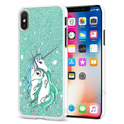 Green Cute Unicorn Phone Case Cover For All Top Models iPhone Samsung Huawei 064