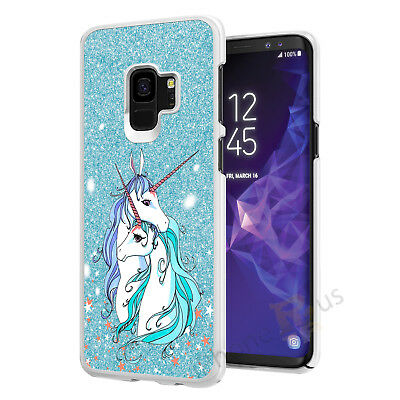 Blue Cute Unicorn Phone Case Cover For All Top Models iPhone Samsung Huawei 064