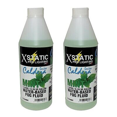 XStatic FJQ-M Caldera Series Mint Scented Water-Based Fog Juice 2 Liters
