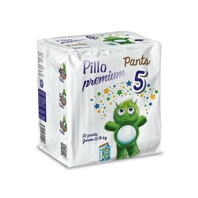 Pillo Premium - Pants Junior, Taglia 5 (12-18 Kg), 20 Pants #0421