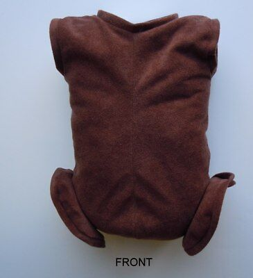 """Doe Suede Ethnic Body for 22-24/"""" Dolls 3//4 Jointed Arms Full Front Legs #511E"""