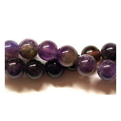 Amethyst Round Beads 6mm Purple 60+ Pcs Gemstones DIY Jewellery Making Crafts