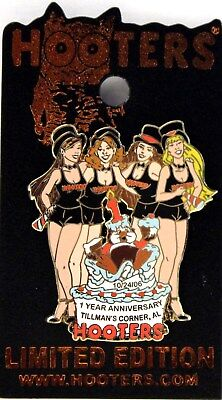 Hooters Party Girls 1 Year Anniversary Cake Tillmans Corner Al Uniform Lapel Pin