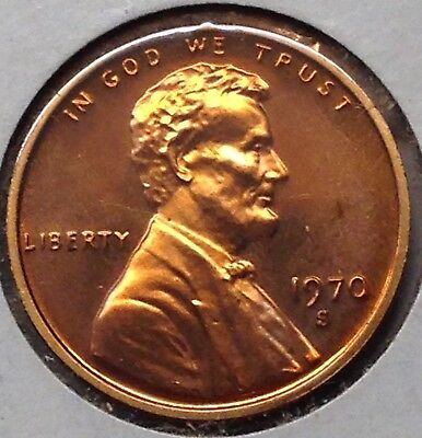 1970 S Lincoln Memorial Cent/Penny - Gem Proof
