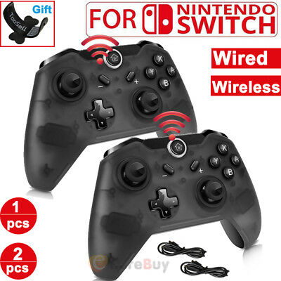 Wireless /Wired Pro Controller Gamepad Joypad Remote for Nintendo Switch Console
