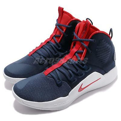 f181223d06d9 Nike Hyperdunk X EP 10 Navy Red White Men Basketball Shoes Sneakers  AO7890-400