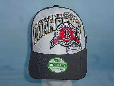 dac82af4766 BOSTON RED SOX 2013 World Series Champions CAP HAT New Era Youth size NWT