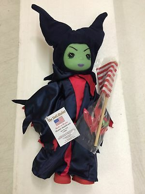 "Precious Moments Disney The Red, White and Blue Maleficent 12"" Doll"