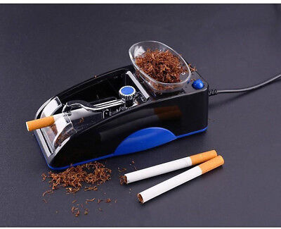 Electric Cigarette Rolling Machine Tobacco Automatic Injector Maker Roller Blue