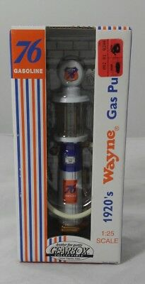 1920's Wayne Gas Pump 1:25 Scale Die Cast 1999 76 Gasoline GEARBOX item #07276