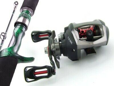 SARATOGA 6'3 10kg Baitcast Fishing Rod and Reel Combo Baitcaster Barra