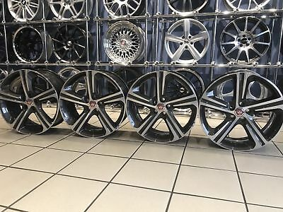 "Genuine Jaguar I Pace 20"" 5 Spoke Blade Alloy Wheels Grey And Polished"