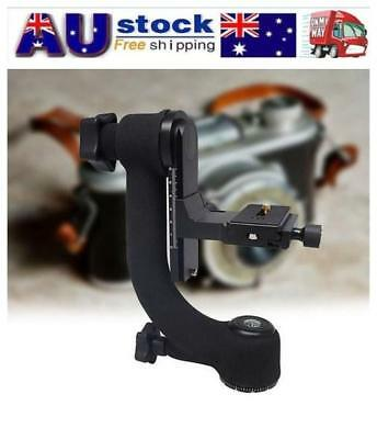 360°Panorama Gimbal Ball Tripod Head Heavy Duty Quick Release For Telephoto DSLR