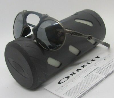 af42572ab5f OAKLEY pewter black iridium POLARIZED MADMAN OO6019-0241 sunglasses! NEW IN  BOX!