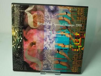 1991 COMPLETE Royal Mail SPECIAL STAMPS YEAR BOOK Commemorative Post Office GB