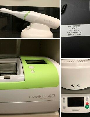 Planmeca Planscan Dental Acquisition Unit w/ Planmill 40 & Programat CS2 Furnace