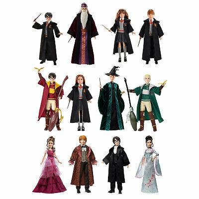 Harry Potter Dolls - Harry, Hermione, Ron, Ginny, Dumbledore, McGonagall, Malfoy